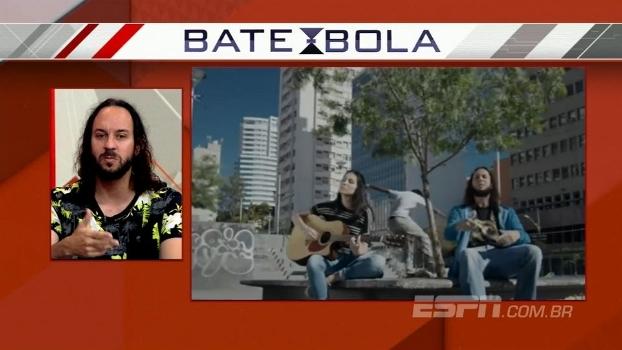 Gabriel O Pensador canta seu novo single 'Fé na Luta' no Bate Bola Debate