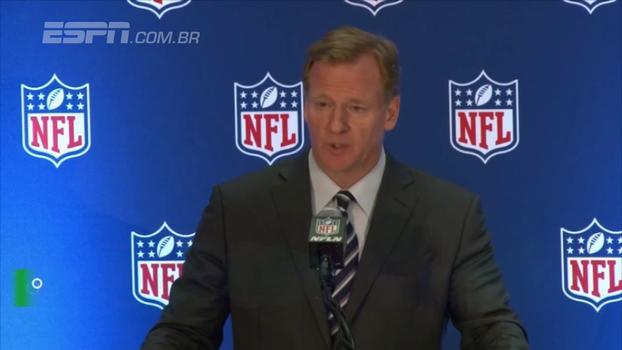 Chefão da NFL: 'Temos seis, sete jogadores envolvidos com protestos'