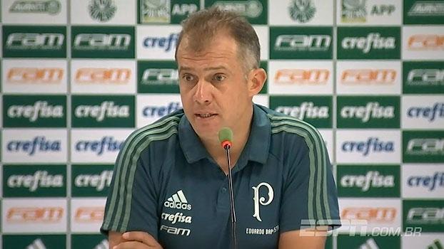 Eduardo Baptista analisa eliminação do Palmeiras e fala sobre irritação de Borja: 'É normal'