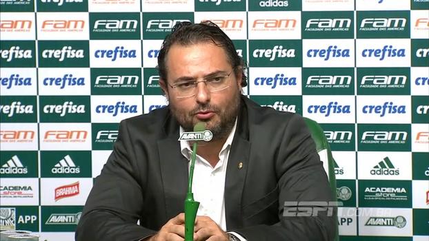 Mattos diz que Lucas Lima 'fez de tudo para estar no Palmeiras'