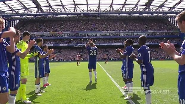 Despedida de Terry no Chelsea foi o grande momento da rodada da Premier League