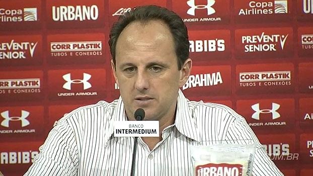 Ceni destaca partida de Pratto e vê São Paulo melhor no segundo tempo