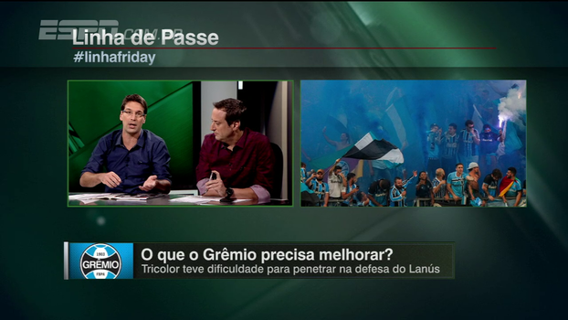 Arnaldo vê situações de Fla e Grêmio 'complicadas' e vê gaúchos 'fomentando clima de guerra'