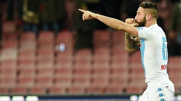 Napoli vira sobre a Sampdoria aos 50 minutos do 2º tempo e assume a 3ª posição do Italiano