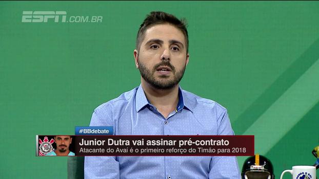 Junior Dutra no Corinthians? Empresário dá negócio como certo, e Nicola traz os detalhes