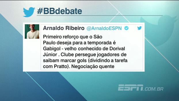 Negociação quente: por relação com Dorival, Gabigol é o primeiro reforço desejado pelo São Paulo