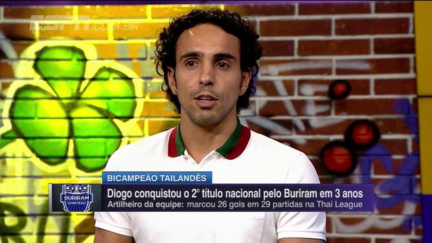 Diogo fala sobre lesões no Palmeiras e Santos e diz: 'Deixei a desejar profissionalmente no Flamengo'