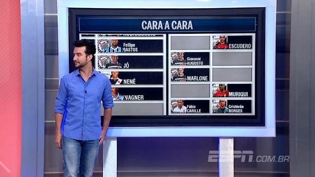 'Cara a Cara' de Vasco x Corinthians: quem você escolhe? BB Debate escala