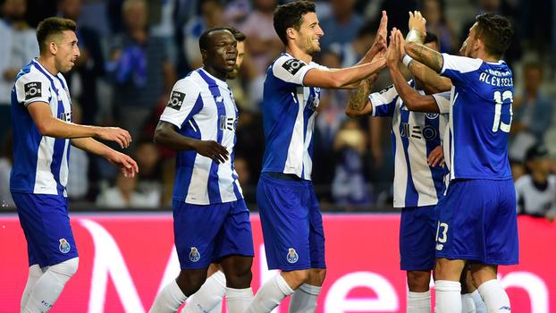 Português: Gols de Porto 5 x 2 Portimonense