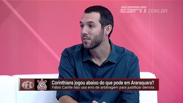Hofman analisa elenco do Corinthians: 'Carille tentou rodar o time e teve dificuldades'