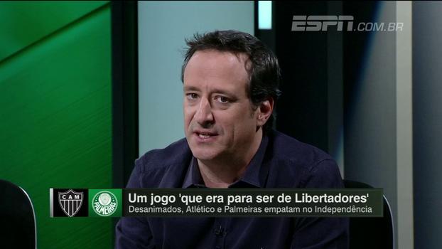 Gian analisa 'queda' de Palmeiras, Atlético-MG e Fla: 'Qualquer um deles ficar fora da Libertadores é uma vergonha enorme'