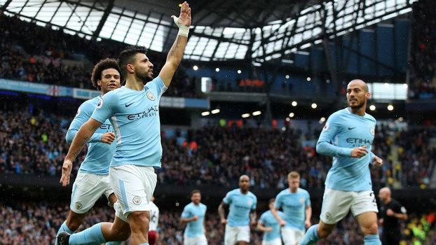 Veja os gols da vitória do Manchester City sobre o Burnley por 3 a 0 pela Premier League