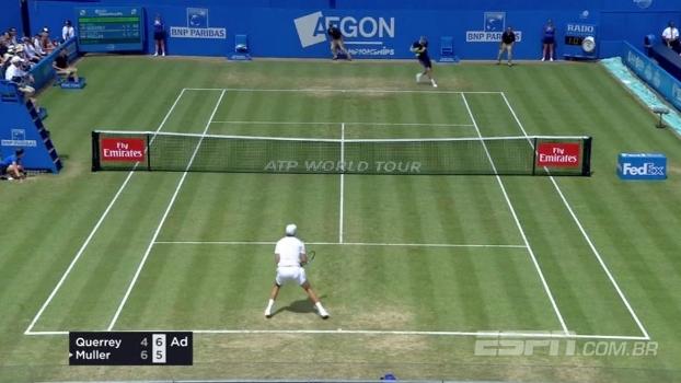 Muller e Cilic vencem e se enfrentam nas semis do ATP de Queen's