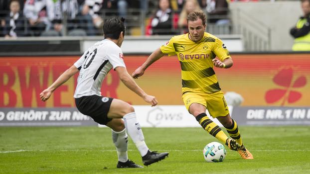 Bundesliga: Melhores momentos de Eintracht Frankfurt 2 x 2 Borussia Dortmund