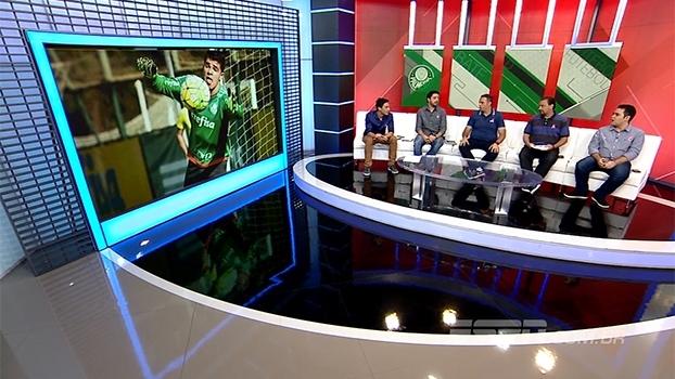 Vagner ou Vinícius, quem deve ser o titular no gol do Palmeiras? Bate Bola analisa