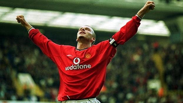 2001: Com pintura de Beckham e gols de Verón e Nistelrooy, United teve virada histórica contra o Tottenham