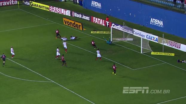 Veja o gol da vitória do Oeste sobre o Brasil de Pelotas por 1 a 0 pela Série B