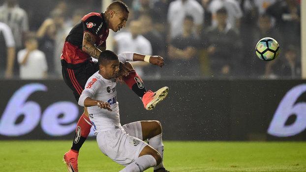 Assista aos gols de Santos 4 x 2 Flamengo