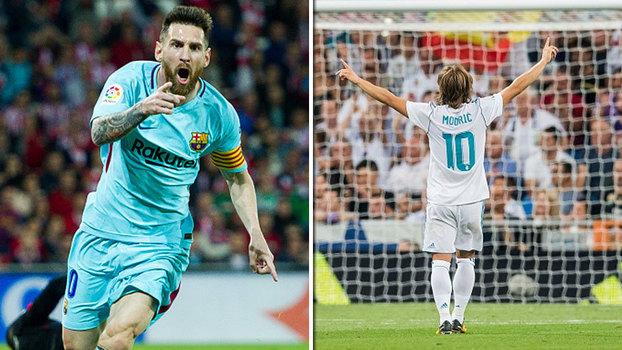 Real x Barça na Copa: delicie-se com lances de Messi e Modric, camisas 10 que se enfrentam na fase de grupos