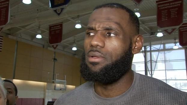 LeBron James, sobre os Warriors: 'Não acho que temos rivais no momento'