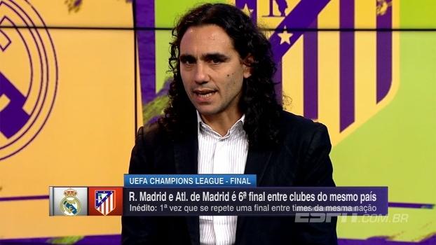 Sorin: Energia do Atlético é mais forte, mas tecnicamente o Real tem superioridade nítida