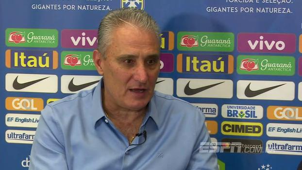 Tite analisa grupo do Brasil na Copa e diz que pode ter novidades na convocação para 2018