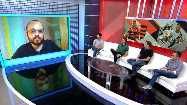 Bruno Guedes analisa clássico entre Flamengo e Vasco: 'Derrota não afeta nenhuma das duas equipes'