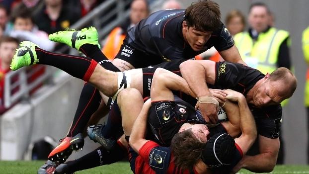 Atual campeão, Saracens vence o Munster por 26 a 10 e avança à final do Europeu de Rugby; veja