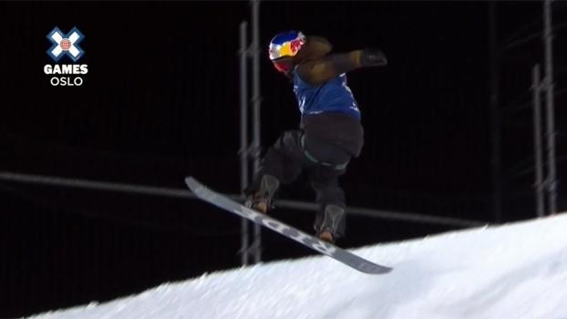 Com manobra de 1620º, japonês de 19 anos é ouro no Snowboard Big Air no X Games