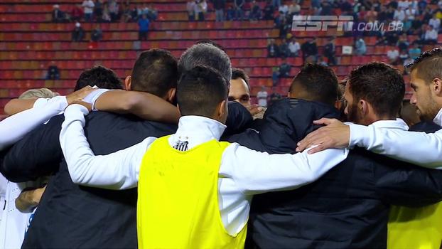 Eduardo de Meneses conta como foi o empate entre Fluminense e Santos