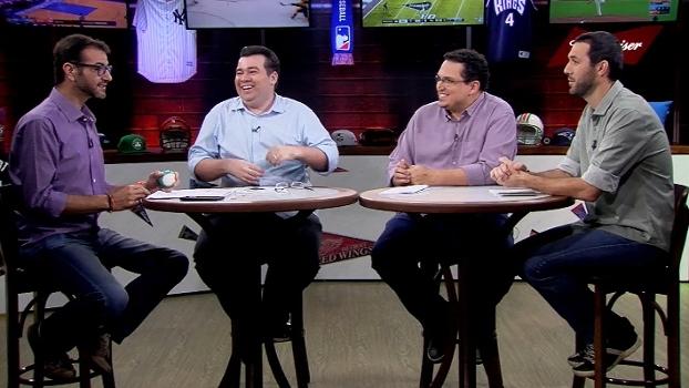 Ari, Rômulo, Bulgarelli e Hofman comentam a série entre Rockets e Thunder