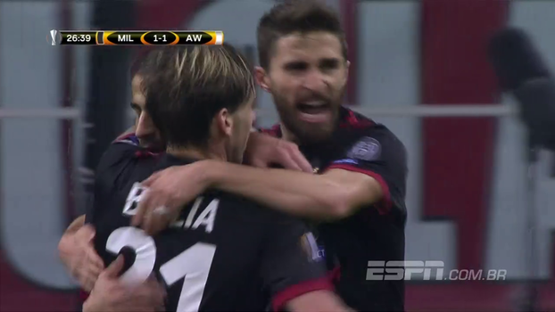 Europa League: Melhores momentos de Milan 5 x 1 Áustria Viena