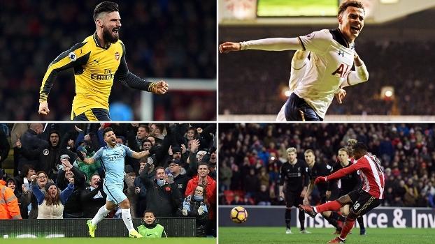 Vitória do Tottenham sobre o líder e reação do Arsenal: todos gols da 20ª rodada da Premier League