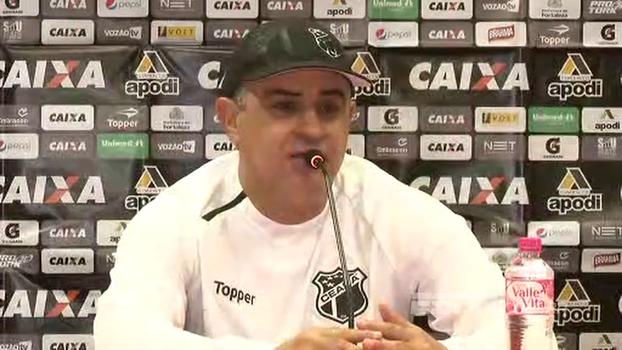 Marcelo Chamusca elogia elenco do Ceará: 'Feliz por superarem as dificuldades, ainda mais com a qualidade do Inter'