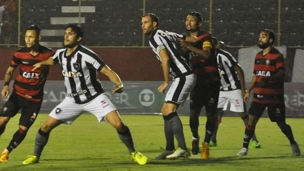 Brasileiro: Gols de Vitória 2 x 2 Botafogo