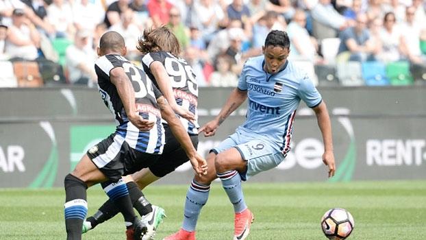 Italiano: Gols de Udinese 1 x 1 Sampdoria