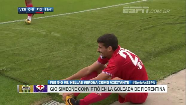Com primeiro gol do filho de Simeone e golaço de falta, Fiorentina goleia fora de casa; veja os gols