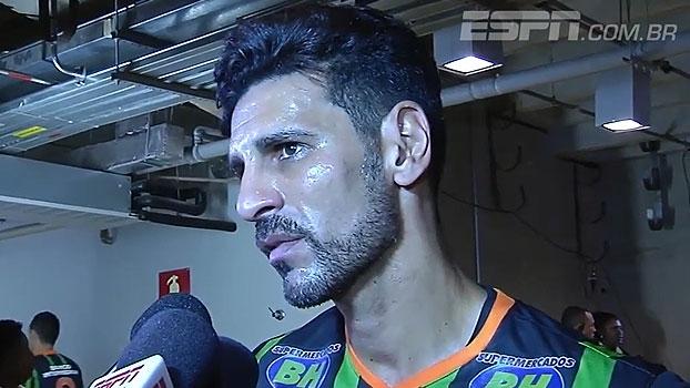 Leandro Guerreiro destaca luta do América-MG, mas lamenta: 'Perdemos dois pontos'
