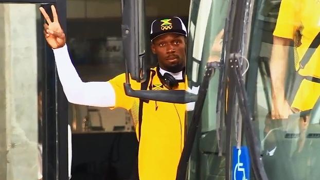 Nada de Vila Olímpica: Presença de Usain Bolt mexe com rotina de hotel
