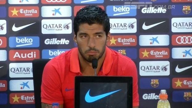 Suárez não se preocupa com renovação com Barcelona
