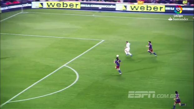 Real Madrid e Barcelona se enfrentam neste sábado; relembre gols do confronto pelo Espanhol