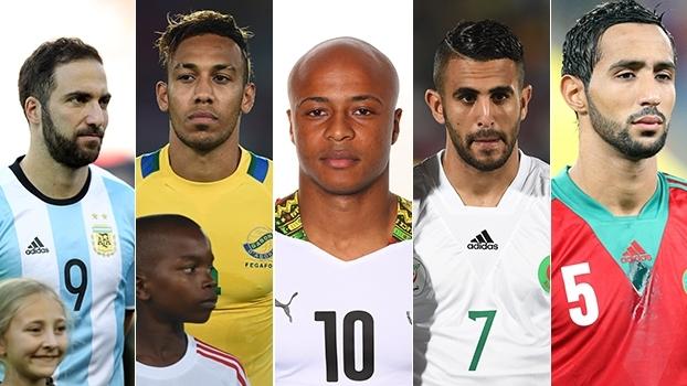 Veja gols dos jogadores que nasceram na França e optaram por defender outro país