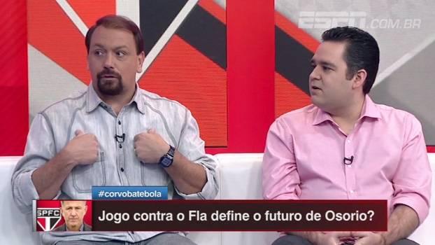 Bertozzi crê que trabalho de Osorio 'pode melhorar muito'; para Alê, últimas derrotas 'não têm explicação'
