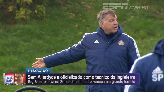 Comentaristas criticam escolha do novo técnico da Inglaterra