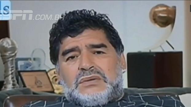 Maradona insinua favorecimento à Juventus: 'Tem jogadores fenomenais dentro da arbitragem italiana'