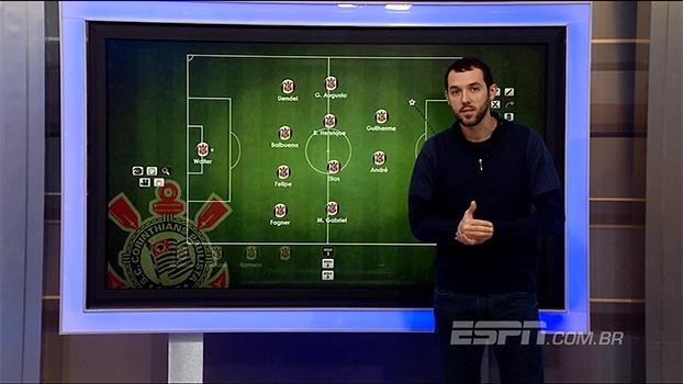 Do 4-1-4-1 para o 4-4-2: Gustavo Hofman mostra variação tática do Corinthians