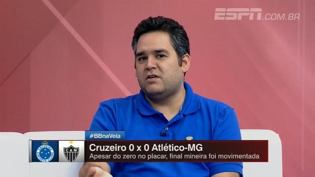 Bertozzi analisa clássico mineiro: 'Pela ideia que tinha para o jogo, Atlético-MG executou bem'