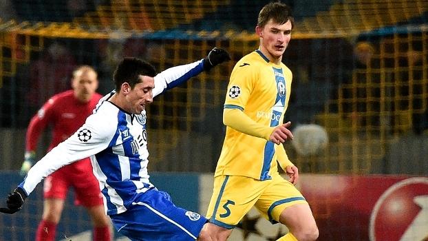Champions League: Gols de BATE Borisov 0 x 3 Porto