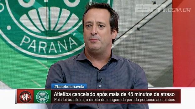 Gian Oddi diz que torcedor paranaense foi feito de palhaço: 'Argumentações da federação são patéticas'