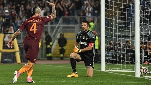 Italiano: Gols de Roma 3 x 1 Juventus